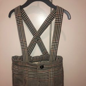 Gucci Baby Retro Check Wool Overall.